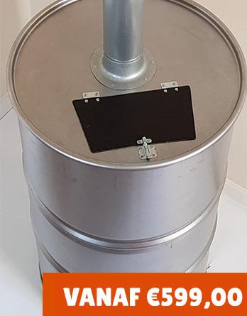 Zwembadkachel maxi drum verkrijgbaar t/m 60.000 liter