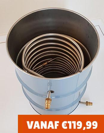Zwembadkachel mini drum tot verkrijgbaar t/m 6.000 liter