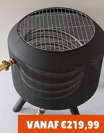 Zwembadverwarming trommelpot 22 mm, verkrijgbaar t/m 18.000 liter
